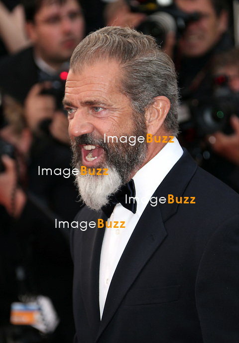 CPE/ Mel Gibson attend 'The Expendables 3' premiere during the 67th Annual Cannes Film Festival on May 18, 2014 in Cannes, France