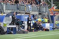 VOETBAL: LEEUWARDEN: 16-08-2015, SC Cambuur - Feyenoord, uitslag 0-2, Cambuur trainer Henk de Jong, ©foto Martin de Jong