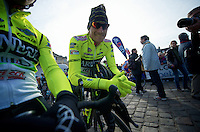 Paris-Roubaix 2012 ..Pippo Pozzato at the start