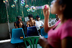 Korsang Khmer is an outreach and preventative care program for HIV/AIDS and needle exchange for drug users in the slums of Phnom Penh.