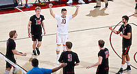 Stanford Volleyball M vs UCSB, February 11, 2017