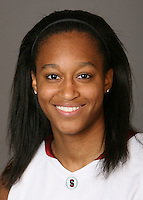 STANFORD, CA - OCTOBER 9:  Melanie Murphy of the Stanford Cardinal women's basketball team poses for a headshot on October 9, 2008 in Stanford, California.
