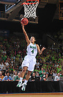 Mar 20, 2012; Skylar Diggins goes up for a shot in the 73-62 win over Califorinia in the second round of the 2012 NCAA tournament...Photo by Matt Cashore/University of Notre Dame