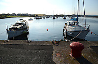 Harbour, Groomsport, Co Down, N Ireland, UK, travel, tourism, 201208100488..Copyright Image from Victor Patterson, 54 Dorchester Park, Belfast, UK, BT9 6RJ..Tel: +44 28 9066 1296.Mob: +44 7802 353836.Voicemail +44 20 8816 7153.Skype: victorpattersonbelfast.Email: victorpatterson@me.com.Email: victorpatterson@ireland.com (back-up)..IMPORTANT: If you wish to use this image or any other of my images please go to www.victorpatterson.com and click on the Terms & Conditions. Then contact me by email or phone with the reference number(s) of the image(s) concerned.