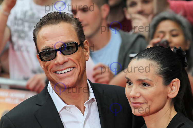 LONDON - AUGUST 13: Jean-Claude Van Damme; Gladys Portugues attended ...