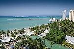 20150420-Carolina Puerto Rico- Vista de la Playa del Alambique en el sector hotelero de Isla Verde en Carolina, Puerto Rico. Alambique Beach in Isla Verde, Carolina,