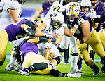 The University of Washington football team defeats the University of Colorado 41-10 in the Pac-12 Championship Game at Levi's Stadium in Santa Clara, CA on December 2, 2016.(Photography by Scott Eklund/Red Box Pictures)
