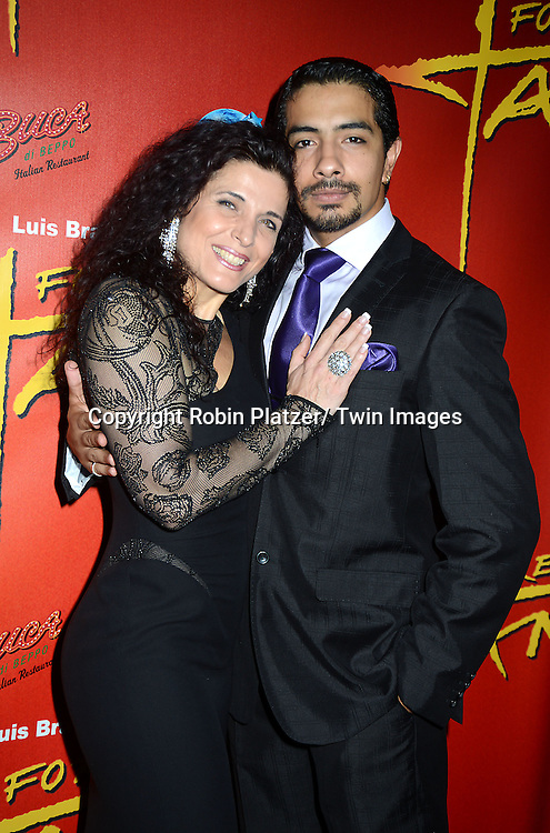 Marcela Duran and Gaspar Godoy attend the &quot;Forever Tango &quot; Opening night on Broadway<br /> at the Walter Kerr Theatre in New York City on July 14, 2013. The party was at Buca di Beppoand Planet Hollywood. The show stars Karina Smirnoff and Maksim Chmerkovskiy.