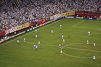 Game action from the second half. The men's national teams of the United States and Argentina played to a 0-0 tie during an international friendly at Giants Stadium in East Rutherford, NJ, on June 8, 2008.