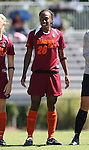 30 September 2007: Virginia Tech's Marika Gray. The Duke University Blue Devils defeated the Virginia Tech University Hokies 1-0 in sudden death overtime at Koskinen Stadium in Durham, North Carolina in an Atlantic Coast Conference NCAA Division I Women's Soccer game.