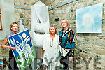 """""""& Gently Letting Go..."""" Pictured at their exhibition of new work at St. John's Theatre & Arts Centre, Listowel on Thursday night last were Susan Hitching, Knocknagoshel, Rebecca Carroll, Asdee & Noreen Breen, Fenit."""