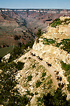 Arizona, Grand Canyon.  South Rim.  Photo  #: azgran105.  .Photo copyright Lee Foster, 510/549-2202, lee@fostertravel.com, www.fostertravel.com
