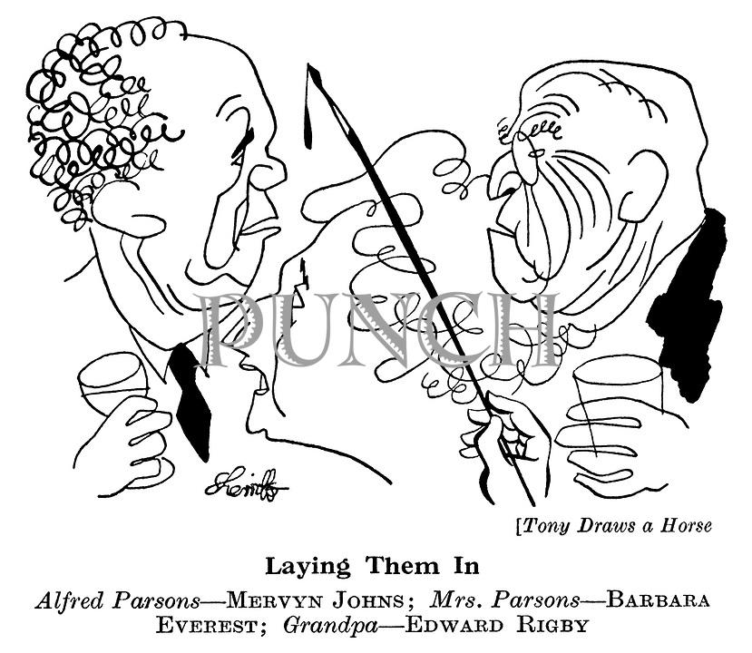Tony Draws a Horse ; Mervyn Johns, Barbara Everest and Edward Rigby