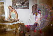 August 7, 2010. Durham, North Carolina.. Wonderland, an Alice in Wonderland themed party and mini circus, was held at the Fullsteam Brewery in downtown Durham..