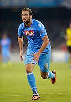 FUSSBALL   CHAMPIONS LEAGUE   SAISON 2013/2014   Vorrunde SSC Neapel - Borussia Dortmund      18.09.2013 Gonzalo Higuain (SSC Neapel)