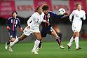 (L to R) Shannon Boxx (USA), Mizuho Sakaguchi (JPN), .April 1, 2012 - Football / Soccer : .KIRIN Challenge Cup 2012 .Match between Japan 1-1 USA .at Yurtec Stadium Sendai, Miyagi, Japan. .(Photo by Daiju Kitamura/AFLO SPORT) [1045]..