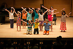 Campers at the Tufts Music Department's music camp perform at Granoff Music Hall. (Kelvin Ma/Tufts University)