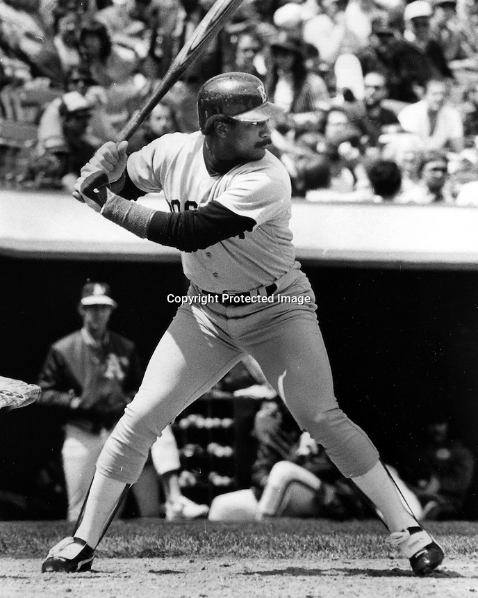 Boston Red Sox slugger Jim Rice. (1983 photo by Ron Riesterer)