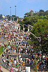 People at Caribana parade in Toronto, Lakeshore Boulevard, Ontario, Canada 2008