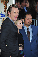 Dax Shepard, Kristen Bell &amp; Michael Pena at the premiere for &quot;CHiPS&quot; at the TCL Chinese Theatre, Hollywood. Los Angeles, USA 20 March  2017<br /> Picture: Paul Smith/Featureflash/SilverHub 0208 004 5359 sales@silverhubmedia.com