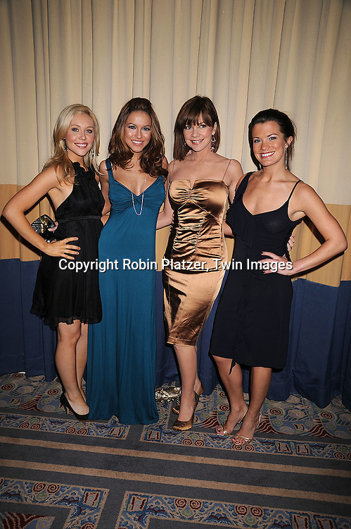 """Amanda Baker, Chrishell Stause, Bobbie Eakes and Melissa Claire Egan of """"All My Children"""".at The Starlight Starbright Children's Foundation Benefit on .March 6, 2008 at The Marriott Marquis Hotel. .Roibn Platzer, Twin Images."""