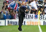 Rangers v St Johnstone...19.11.11   Scottish Premier League.Steve Lomas applauds his players.Picture by Graeme Hart..Copyright Perthshire Picture Agency.Tel: 01738 623350  Mobile: 07990 594431