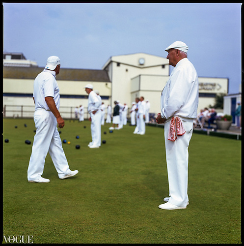 Whites, Teignmouth Bowls, Devon, 2010 by Paul Cooklin