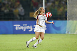 21 August 2008: Heather Mitts (USA). The United States Women's National Team defeated Brazil's Women's National Team 1-0 after extra time at the Worker's Stadium in Beijing, China in the Gold Medal match in the Women's Olympic Football tournament.