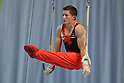 Payne Jackson (CAN), July 2, 2011 - Artistic Gymnastics : Payne Jackson performs on the rings during the Japan Cup 2011 at Tokyo Metropolitan Gymnasium, Tokyo, Japan. (Photo by Yusuke Nakanishi/AFLO SPORT) [1090]
