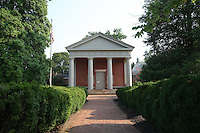 Old historical courthouse in Palmyra, Virginia.