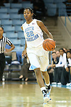 05 December 2012: North Carolina's N'Dea Bryant. The University of North Carolina Tar Heels played the Radford University Highlanders at Carmichael Arena in Chapel Hill, North Carolina in an NCAA Division I Women's Basketball game. UNC won the game 64-44.
