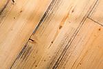 reclaimed wood flooring at Beechers and Caffee Vita, Seatac Airport