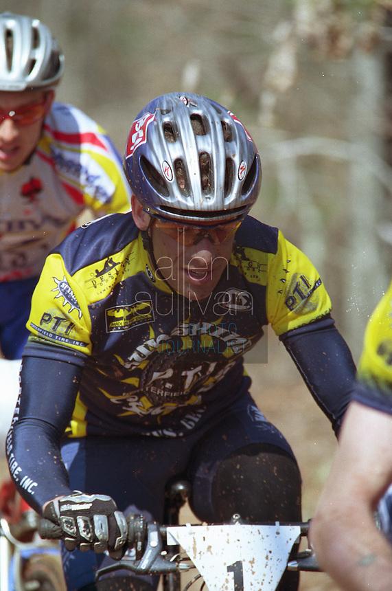Canadian mountain bike racer David Irving.