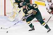 Kevan Miller (Vermont - 15) - The Boston College Eagles defeated the visiting University of Vermont Catamounts 6-0 on Sunday, November 28, 2010, at Conte Forum in Chestnut Hill, Massachusetts.