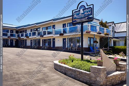 Blue Bay Motel in Tobermory, Ontario, Canada