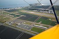 aerial photograph Half Moon Bay airport, San Mateo County, California