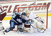 Joey Diamond (Maine - 39), John Muse (BC - 1) - The Boston College Eagles defeated the visiting University of Maine Black Bears 4-0 on Friday, November 19, 2010, at Conte Forum in Chestnut Hill, Massachusetts.