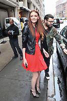 Lydia Hearst Seen In New York City