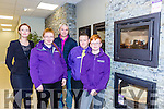 Gretta O'Connell, Mykayla Corcoran, Brendan Mangan, Aidan O'Connor and kieran Crocoran at the Corcorans furniture Killarney on Saturday