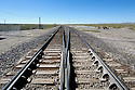WY02402-00...WYOMING - Railroad track at Arminto.