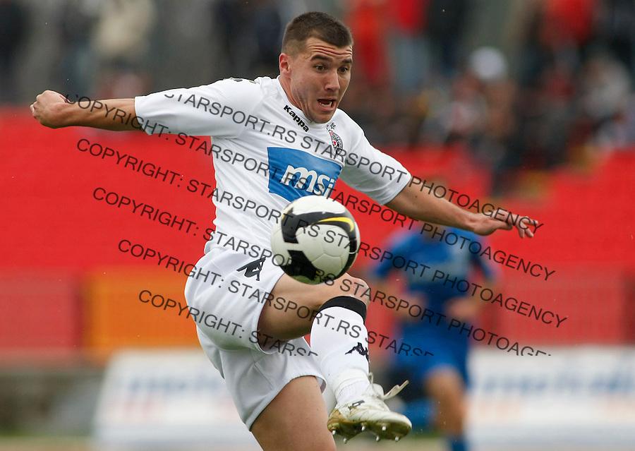 Fudbal, Jelen super liga, sezona 2009/2010.Metalac (Gornji Milanovac) Vs. Partizan.Brana Ilic.Kragujevac, 08.11.2009..foto: Srdjan Stevanovic/Starsportphoto ©
