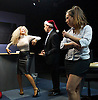 Saxon Court <br /> by Daniel Andersen <br /> at Southwark Playhouse, London, Great Britain <br /> press photocall <br /> 24th November 2014 <br /> <br /> <br /> <br /> Sophie Ellerby as Nat <br /> John Pickard as Joey <br /> <br /> Alice Franklin as Tash <br /> <br /> <br /> <br /> <br /> <br /> <br /> <br /> Photograph by Elliott Franks <br /> Image licensed to Elliott Franks Photography Services