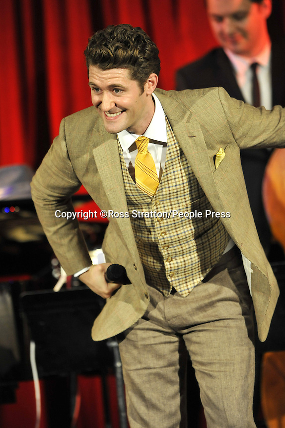 Star of Hit US TV Series 'Glee', Matthew Morrison plays a gig at Bush Hall, London - June 20th 2013<br /> <br /> Photo by Ross Stratton