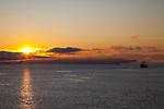 National Geographic Sea Lion at sunrise in Astoria, Oregon.