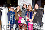 Claire Geragthy, Christine Kennedy, Liz Horgan, Christina Mckenna and Elle O'Rahilly at the Kerry Wedding fair in the INEC on Sunday