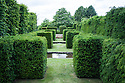 Cistern Garden at Clinton Lodge, Fletching, East Sussex.