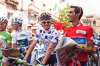 Alberto Contador winner of Tour of Spain 2012
