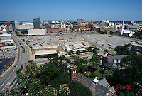 1996 June 26..Redevelopment..Macarthur Center.Downtown North (R-8)..FROM SCHOOL ADMIN BUILDING.LOOKING WEST...NEG#.NRHA#..