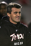 1 November 2006: Maryland head coach Sacho Cirovski. Maryland defeated Boston College 1-0 in double overtime at the Maryland Soccerplex in Germantown, Maryland in an Atlantic Coast Conference college soccer tournament quarterfinal game.