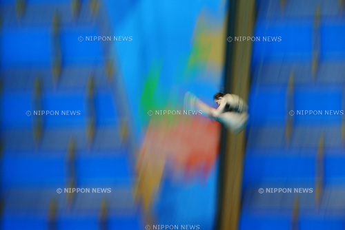 The ambience shot, JULY 29, 2015 - Diving : 16th FINA World Championships Kazan 2015 Women's 10m Platform Semi-Final at Aquatics Palace in Kazan, Russia. (Photo by Yohei Osada/AFLO SPORT)
